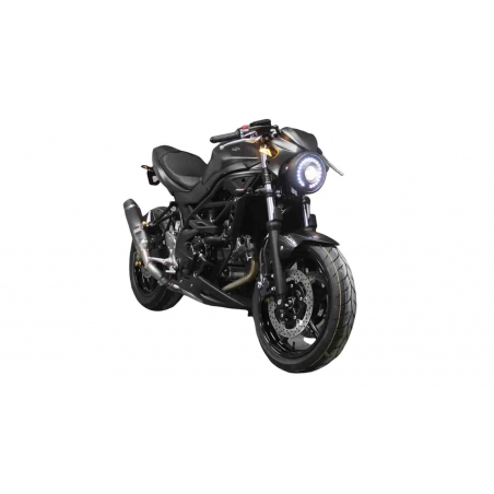 """Suzuki 650 SV - 2016  """" Cyclop """" total look kit,  a unique look for your SV"""