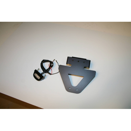 Yamaha R6 specific License plate support - 1