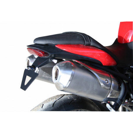 Triumph Speed Triple specific License plate support - 1