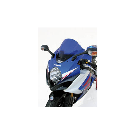 Double bubble tinted racing windscreen for GSX-R750 - 1