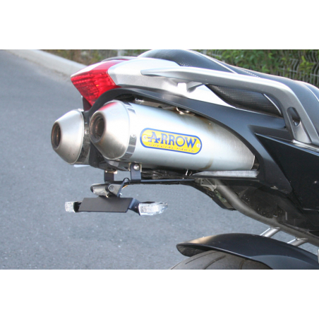 Yamaha FZ6 specific License plate support - 1