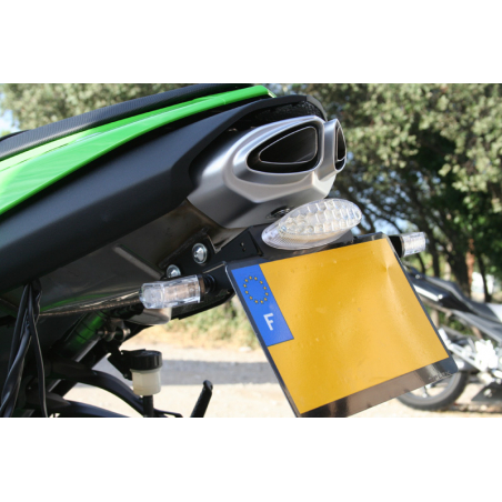 Kawasaki ZX6R specific License plate support - 1