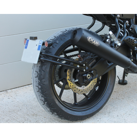 License support MT07 - XSR700 - 1
