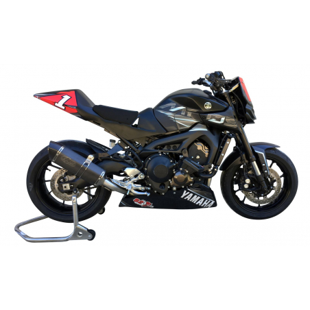 EXAN MT09 exhaust system - 5
