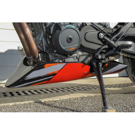 KTM 790 and 890 Duke R racing and road belly pan - 3