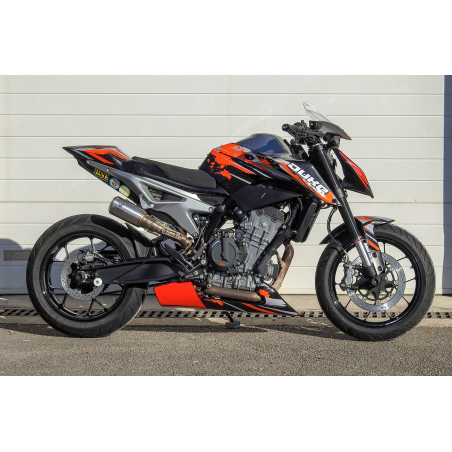 KTM 790 and 890 Duke R racing and road belly pan - 5