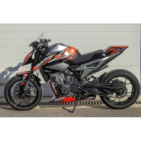 KTM 790 and 890 Duke R racing and road belly pan - 7
