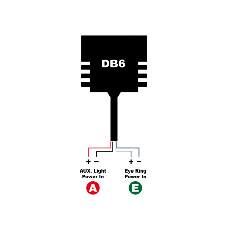 LED HEADLIGHT WITH INTEGRATED TURN SIGNAL - DB6 - 19