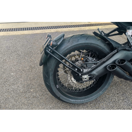 SCRAPER REAR MUDGUARD KIT WITH SUPPORT - 3