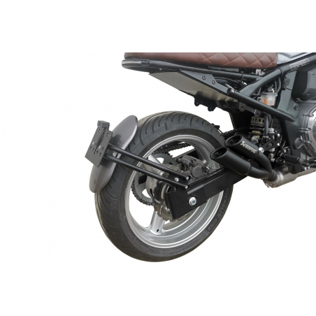 SCRAPER REAR MUDGUARD KIT WITH SUPPORT - 7