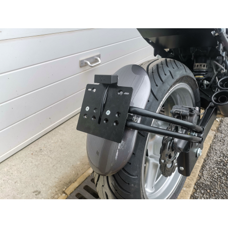 SCRAPER REAR MUDGUARD KIT WITH SUPPORT - 9
