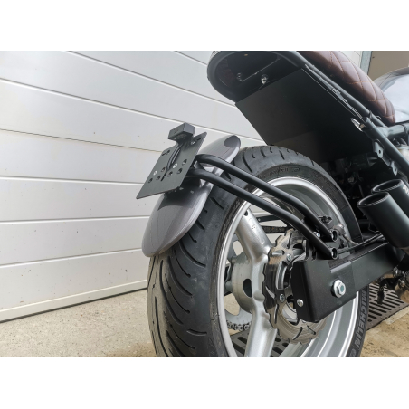 SCRAPER REAR MUDGUARD KIT WITH SUPPORT - 11