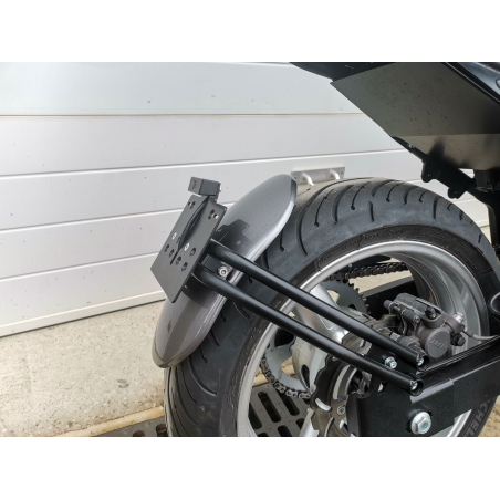SCRAPER REAR MUDGUARD KIT WITH SUPPORT - 13
